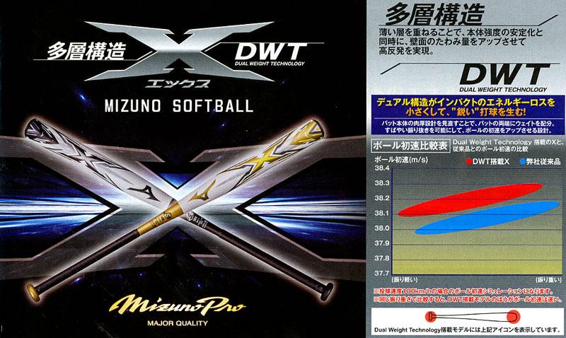 ミズノソフトボール用3号バット(反発基準対応モデル)