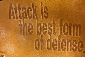 DxMグラブ「攻撃は最大の防御」