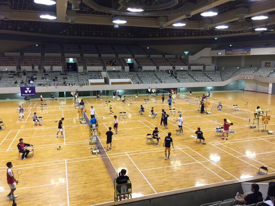 第55回西日本学生バドミントン選手権大会