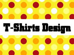 Tシャツデザイン画見本