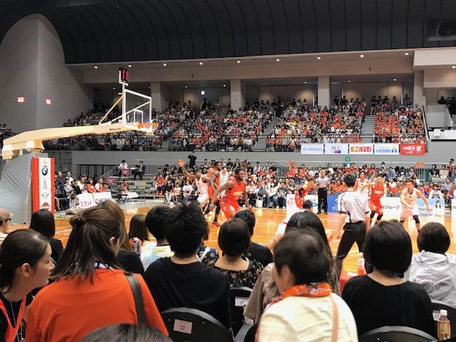 広島ドラゴンフライズ観戦【ホームゲーム2日目】