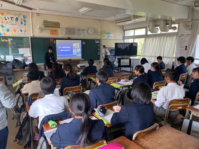 瀬野川中学校様職業講話